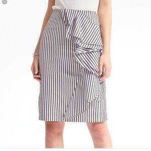 NWT Banana Republic petite high waisted skirt